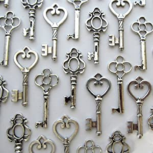 vintage style key set - photo #6