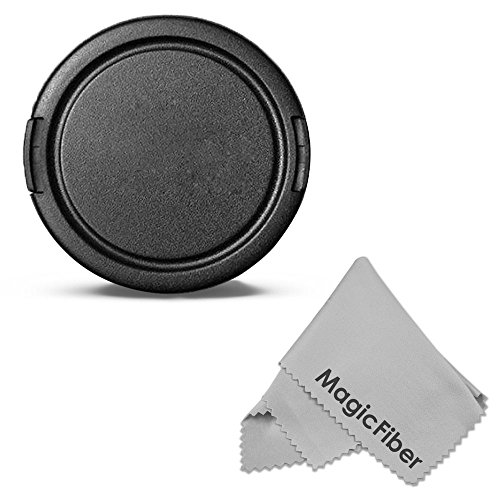 58Mm Altura Photo Snap-On Front Lens Cap For Canon Rebel (T5I T4I T3I T3 T2 T2I T1I Xt Xti Sl1), Canon Eos (1100D 700D 650D 600D 550D 500D 450D 400D 350D 100D) Dslr Cameras And Other Cameras With A 58Mm Filter Thread Lens + Magicfiber Microfiber Lens Clea