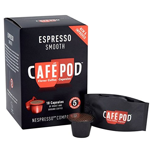 Order CafePod Nespresso Compatible Smooth Capsules 10 per pack from CafePod