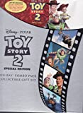 Toy Story 2 Disney Pixar LIMITED EDITION GIFT SET Includes 1 Disc Blu-Ray, 1 Disc DVD, Collectible Book, Sticker Book and Litho Set