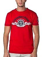 CANADIAN PEAK Camiseta Manga Corta Janado (Rojo)