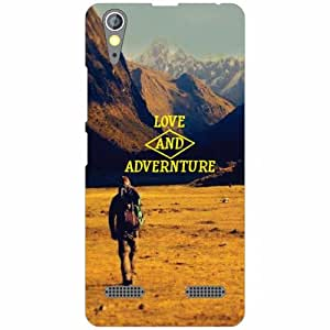 Lenovo A6000 Plus Back cover (Printland)