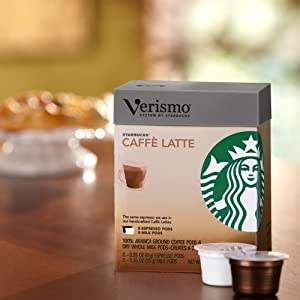Starbucks® Café Latte Verismo™ Pods