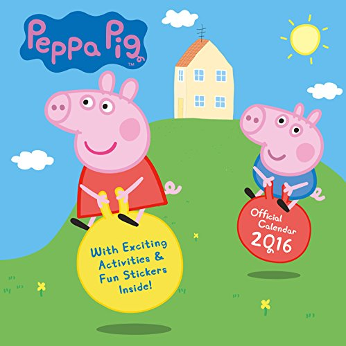 The Official Peppa Pig 2016 Square Calendar (Calendar 2016)