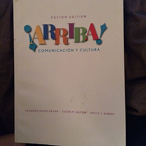 Arriba! Communicacion Y Cultura, Custom Edition