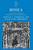 Hosea (The Anchor Yale Bible Commentaries) (0300139691) by Andersen, Francis I.