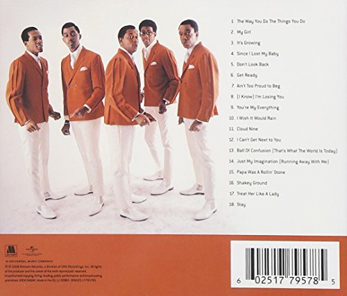 Temptations Ultimate Collection: The Definitive Collection 602517795785