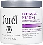 Curel Daily Cream Intensive Healing Fragrance Free 16 Oz (2)