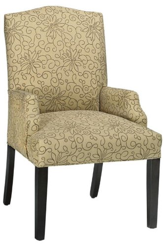 Picture of Home Decorators Collection Camel back Dining Chair, DINING, RHAPSODY BARLEY (B003Z94VV2) (Dining Chairs)