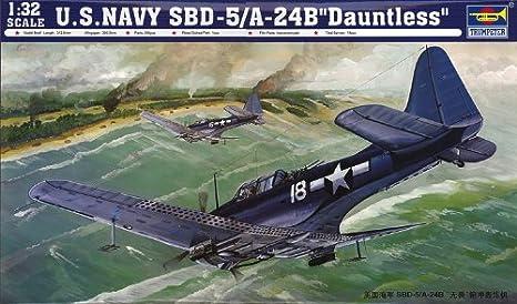 1/32 SBD-5/A-24B Dauntless dive bomber (japan import)