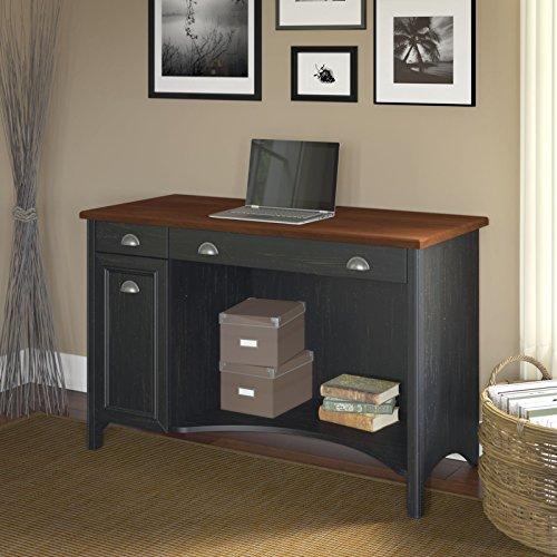 Stanford Computer Desk in Antique Black (Bush Stanford compare prices)