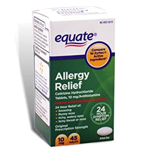 Members Mark Cetirizine Allergy Tablets