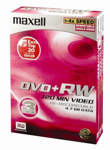 DVD+R/RWMaxellDVD+RW (boîtier vidéo)