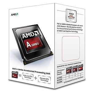 AMD A8-6500 Richland 4.1GHz Socket FM2 65W Quad-Core Desktop Processor AMD Radeon HD AD6500OKHLBOX