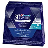 3D White Luxe Whitestrips Professional Effects 20 Treatments + Crest 3D White Whitestrips 1 Hour Express 2 Treatments - Teeth Whitening Kit