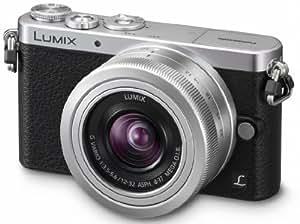 Panasonic Lumix DMC-GM1KEF-S Appareil photo numérique Hybride 16 mégapixels, 7,6 cm (3 pouces) + Objectif 12-32 mm f/3.5-5.6 Noir/Argent
