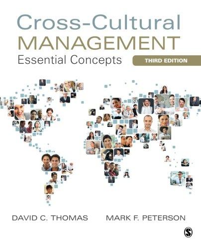 cross cultural management essential concepts pdf