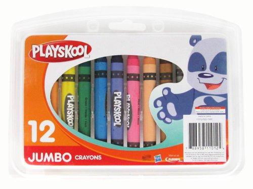 Playskool 12-Count Jumbo Crayons - 1