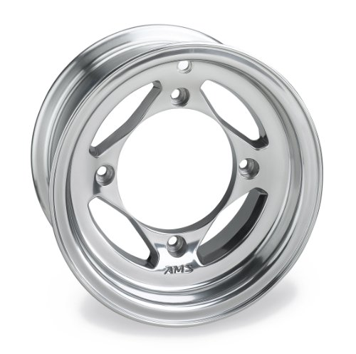 AMS Polished Cast Aluminum Front Wheel - 10x5, 