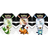2011 Spring Tin: Pokemon Trading Card Game: Black & White Sneak Peek SET of 3...