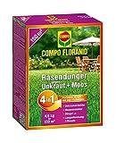 Compo 26171 Floranid Rasendünger gegen Unkraut und Moos 4-in-1