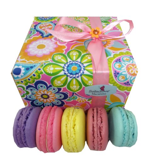 Leilalove Macarons 8 Quantities- 8 Flavors – Mother's Day Limited Edition