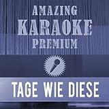 Tage wie diese (Premium Karaoke Version) (Originally Performed By Die Toten Hosen)