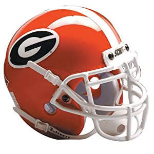 Georgia Bulldogs Schutt Authentic Full Size Helmet by JR Sports