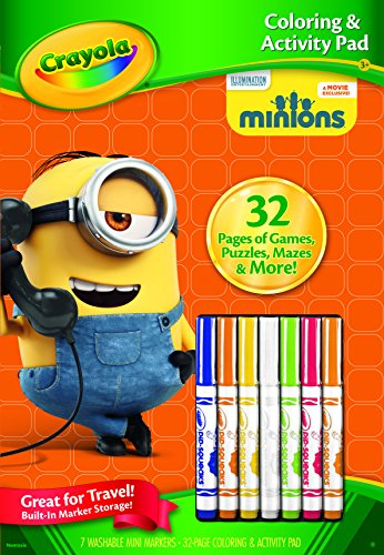 Crayola Color and Activity Book - Minions - 1