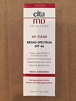 Best Cheap Deal for EltaMD UV Clear Tinted Broad-Spectrum SPF 46 Sunscreen, 1.7 Ounce by Health Beauty Distributors, LLC - Free 2 Day Shipping Available