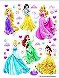 Disney Princess Décoration Sticker Adhesif Mural Géant Répositionnable...