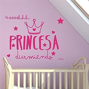 Vinilos infantiles Princesa durmiendo. - BebeHogar.com