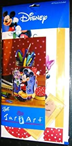 Disney Mickey and Friends - Jar Art, 42 Pieces (1 Each)