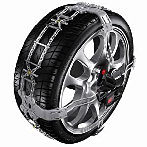 Thule K-Summit Low-Profile Passenger Car Snow Chain, Size K11 (Sold in pairs)