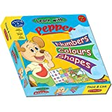 Sterling Numbers, Colours, Shapes - Pepper, Multi Color