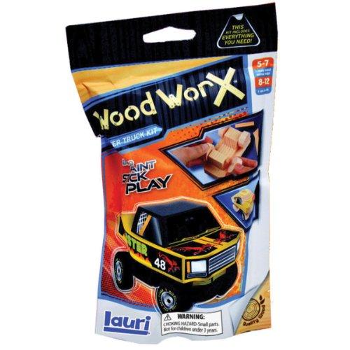 Lauri Toys Wood WorX Monster Truck Starter Kit