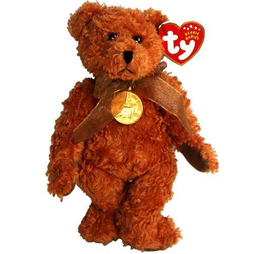 Ty Beanie Babies - 100 Year Teddy Bear