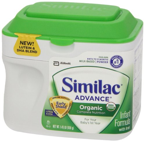 Similac advance organic formula