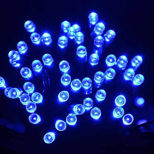 Lightahead® Led Solar Fairy String Lights, 22 Meter (72 Feet) Solar Powered 200 Led Lights For Outdoors, Home, Weddings, Party'S,Christmas & Other Festivals (Blue)