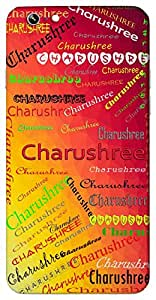 Charushree (Peace Beautiful) Name & Sign Printed All over customize & Personalized!! Protective back cover for your Smart Phone : Apple iPhone 6-Plus