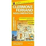Plan de ville de Clermont-Ferrand et de son agglomération - Echelle : 1/11 000