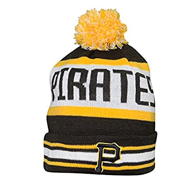 Adult MLB - PITTSBURGH PIRATES Winter Hat / Beanie with Removable Pom Pom