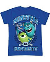 Monsters University Boys Sizes 4-12 Mike & Sulley T Shirt