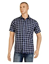 Accoy Men Checkered Casual Shirt 107H