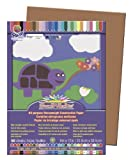 "SunWorks Construction Paper, 9""X12"", Brown, 50 Sheets"
