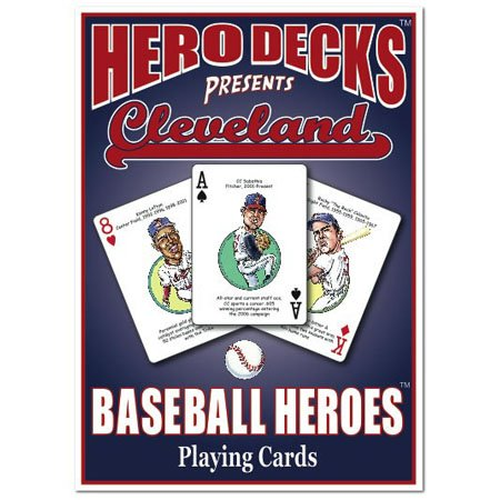 Hero Decks - Cleveland Indians - Playing Cards - 1