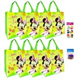 8-pack Minnie Mouse Tote Bags (16