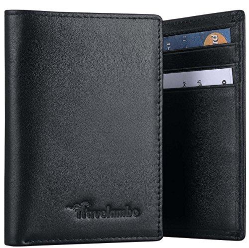Travelambo-RFID-Blocking-High-Capacity-Mens-Wallets-Trifold
