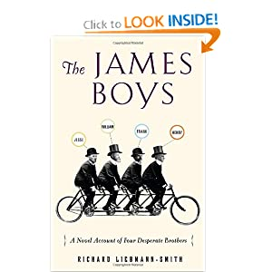 Download book The James Boys: A Novel Account of Four Desperate Brothers
