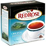 Red Rose Black Tea, 40 Count Box (Pack of 6)